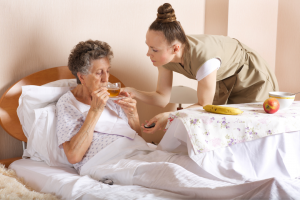 senior care at the bedside